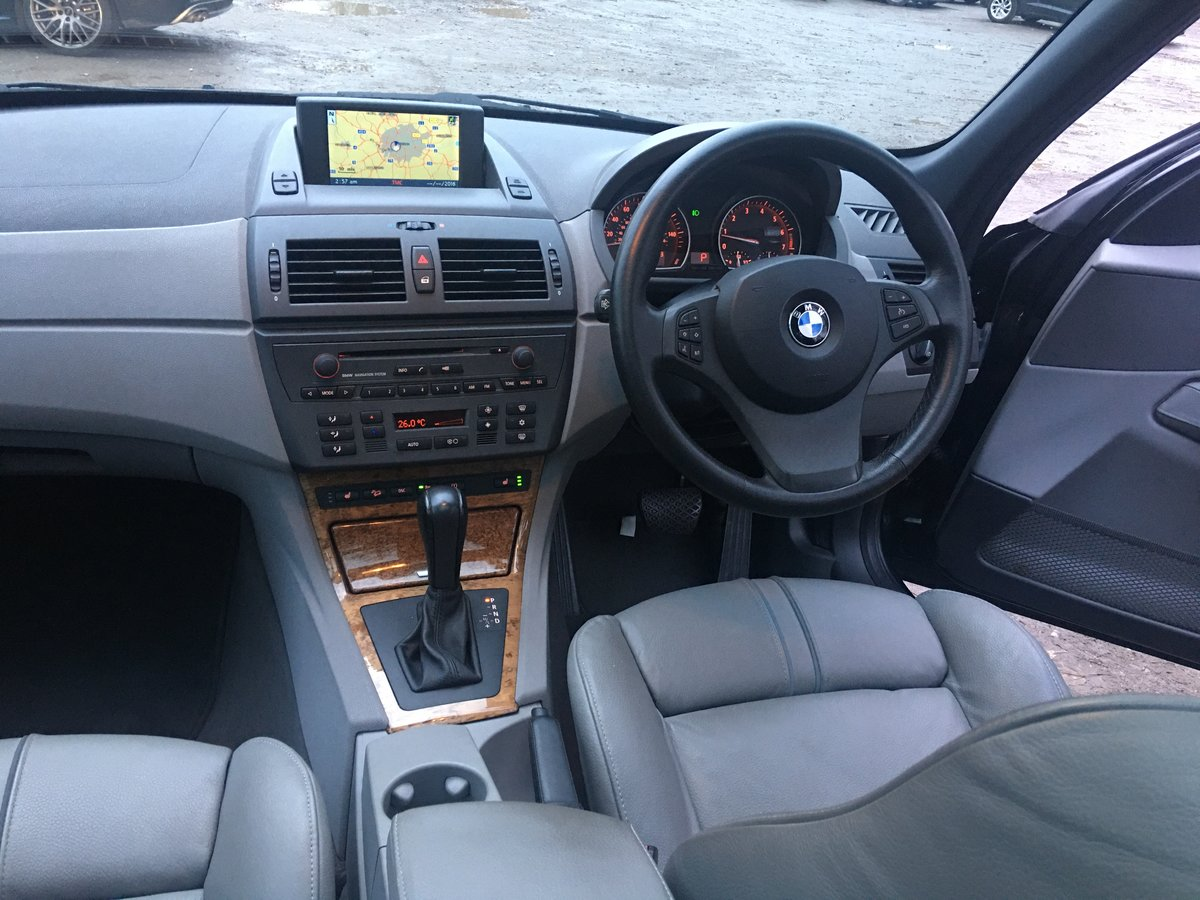 2004 Amazing 20,000 mile BMW X3 Auto 1 owner full spec For Sale (picture 4 of 6)