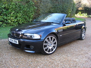 2004 BMW M3 E46 Convertible With Just 36,000 Miles From New For Sale