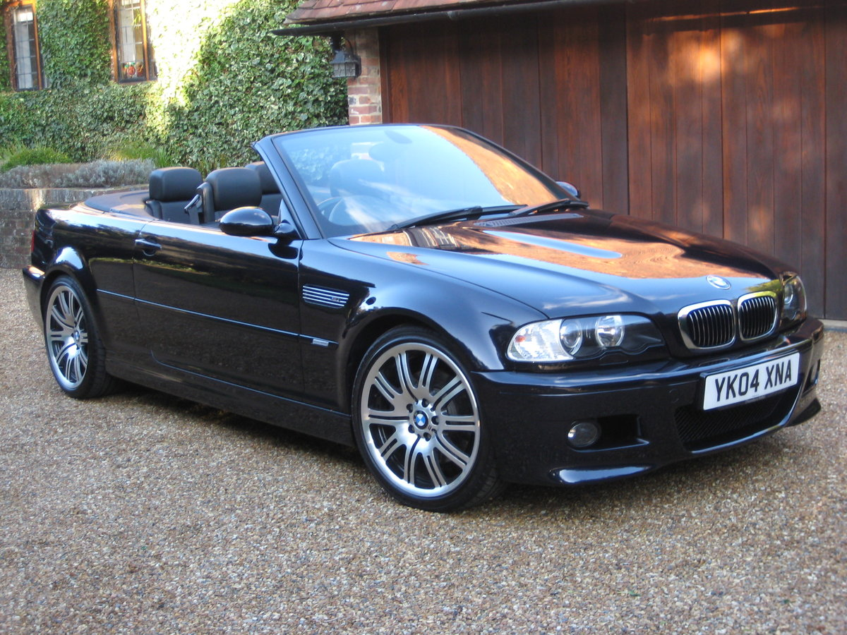2004 BMW M3 E46 Convertible With Just 36,000 Miles From New For Sale (picture 2 of 6)