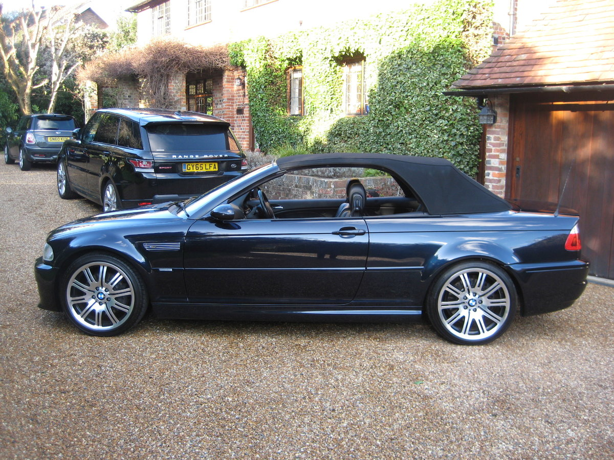 2004 BMW M3 E46 Convertible With Just 36,000 Miles From ...