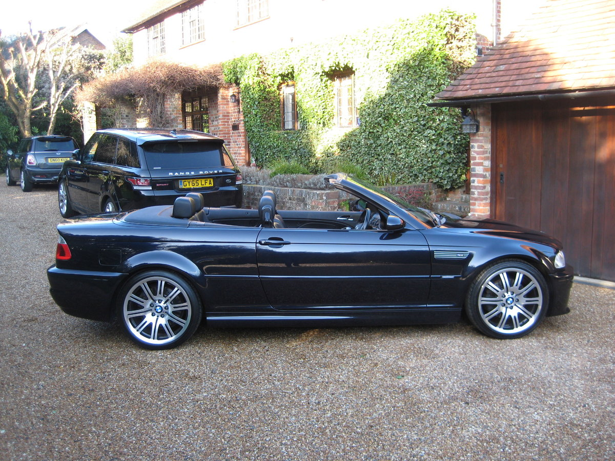 2004 BMW M3 E46 Convertible With Just 36,000 Miles From New For Sale (picture 6 of 6)