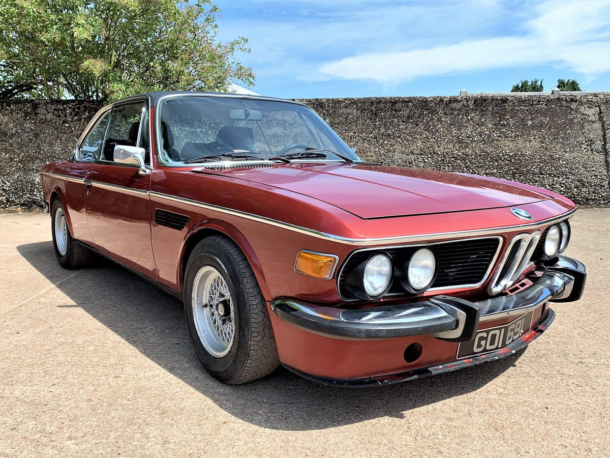 1974 left hand drive BMW E9 CSA For Sale (picture 1 of 6)