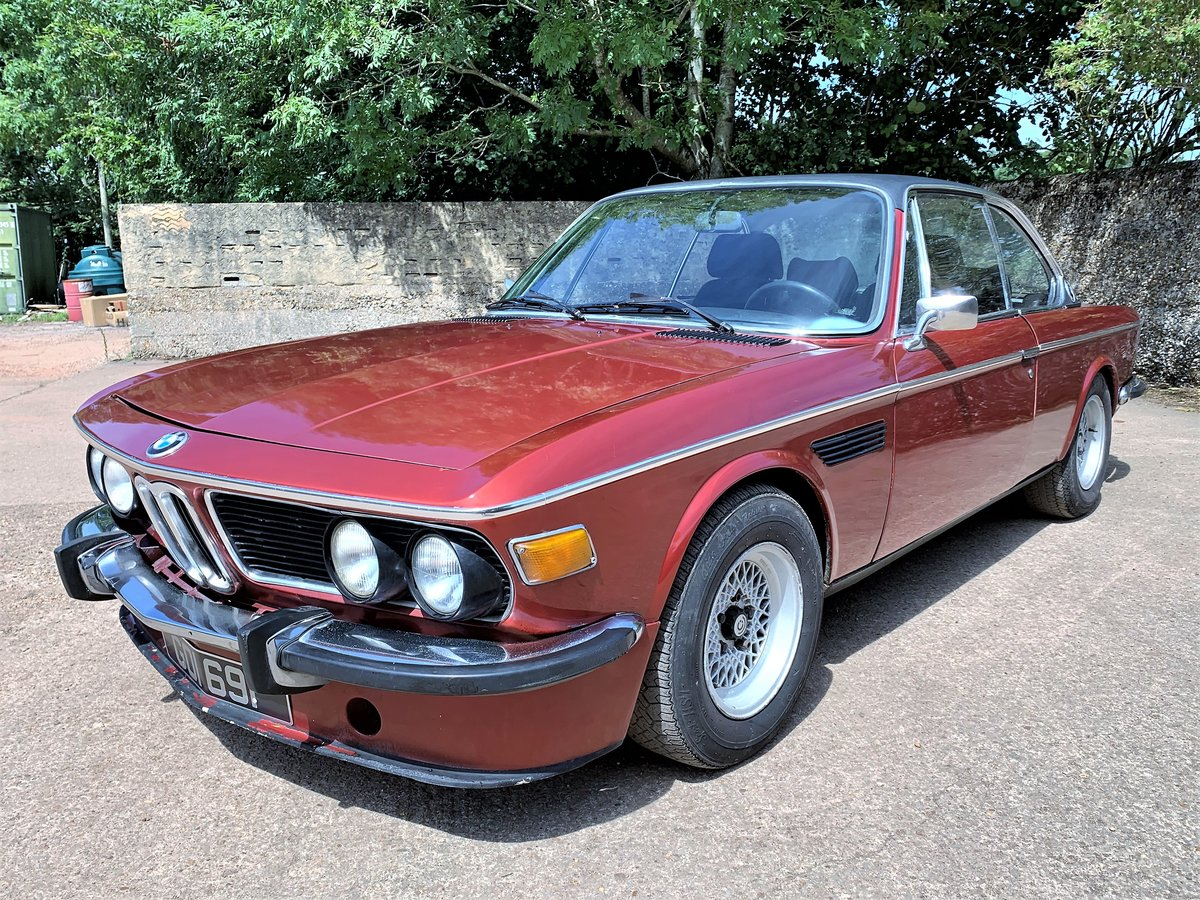 1974 left hand drive BMW E9 CSA For Sale (picture 2 of 6)