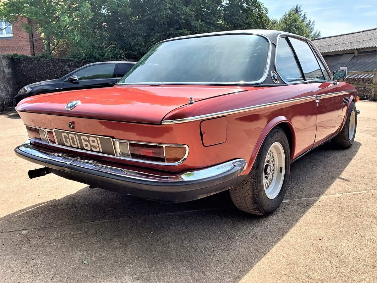 1974 left hand drive BMW E9 CSA For Sale (picture 4 of 6)