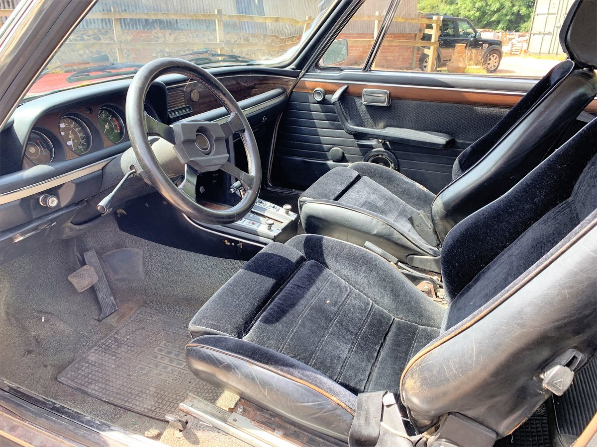 1974 left hand drive BMW E9 CSA For Sale (picture 5 of 6)
