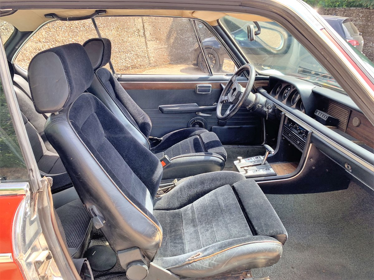 1974 left hand drive BMW E9 CSA For Sale (picture 6 of 6)
