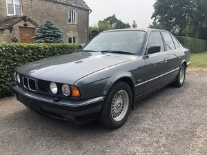 1990 BMW E34 535i se Manual Full history For Sale
