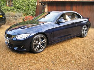2015 BMW 435i M Sport Convertible 1 Owner With £8k Of Options For Sale