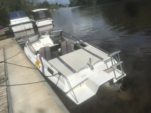 1998 bmw boat on trailer For Sale