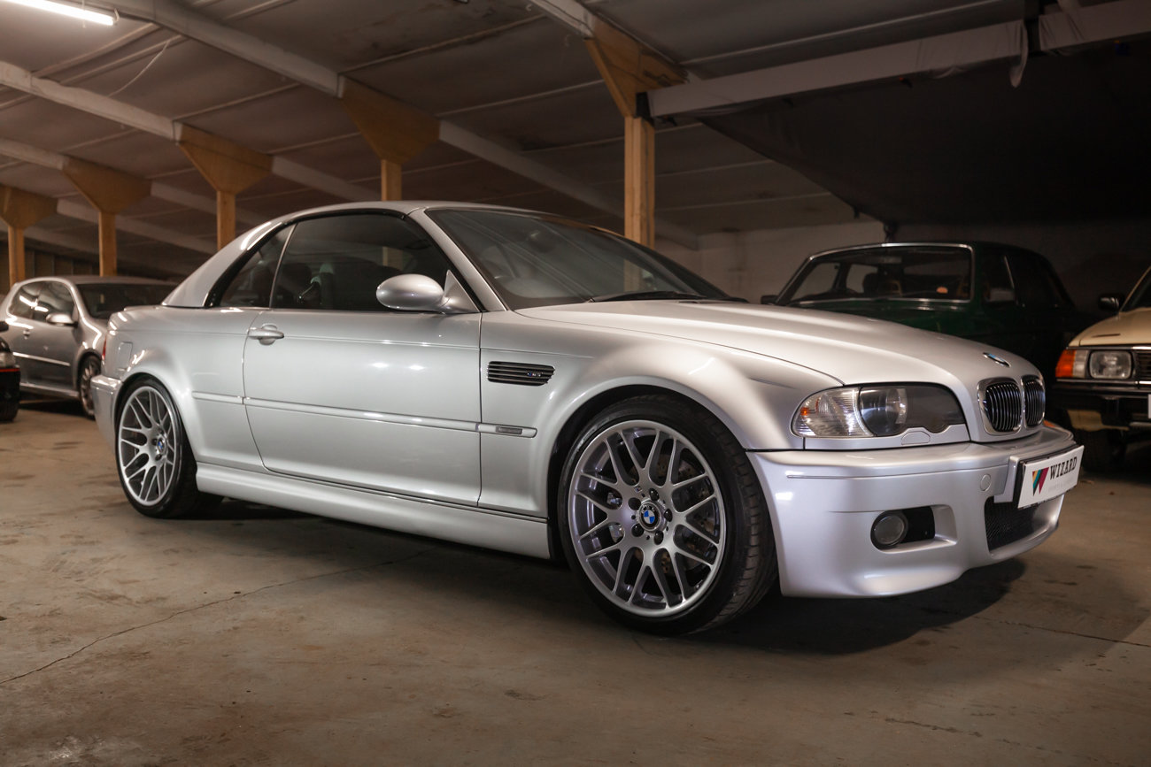 2001 BMW E46 M3 Convertible MANUAL  For Sale (picture 1 of 21)