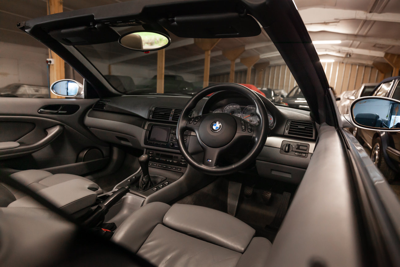 2001 BMW E46 M3 Convertible MANUAL  For Sale (picture 16 of 21)