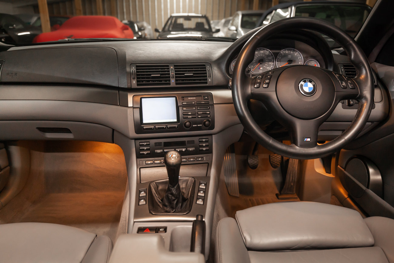 2001 BMW E46 M3 Convertible MANUAL  For Sale (picture 17 of 21)