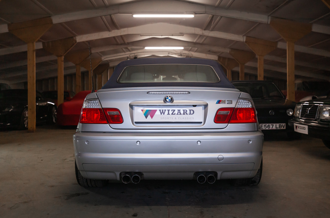 2001 BMW E46 M3 Convertible MANUAL  For Sale (picture 20 of 21)