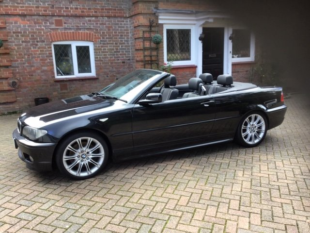 2005 BMW E46 330 CD Sport Convertible For Sale (picture 1 of 6)