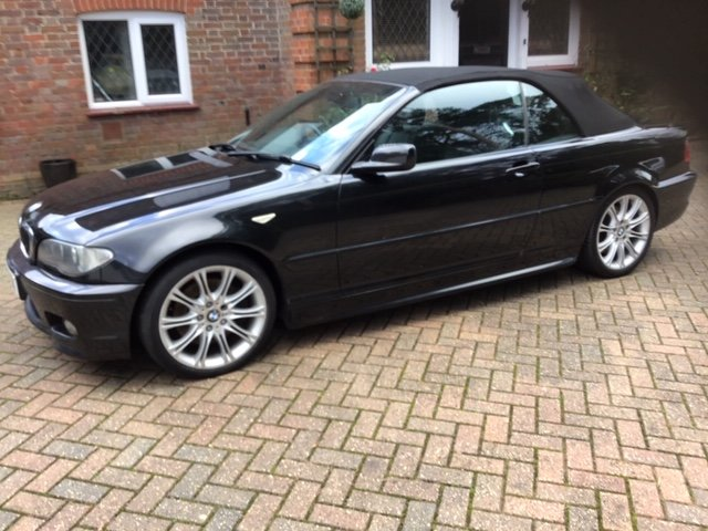 2005 BMW E46 330 CD Sport Convertible For Sale (picture 4 of 6)