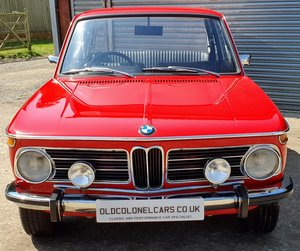 1972 BMW 2002 Tii - Exceptionaly original condition - 51k Miles  For Sale