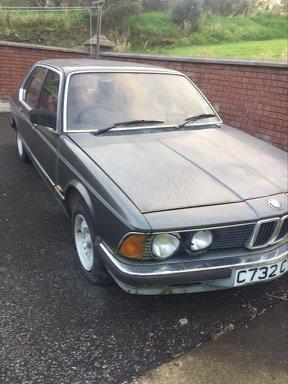 1986 BMW 732i E23