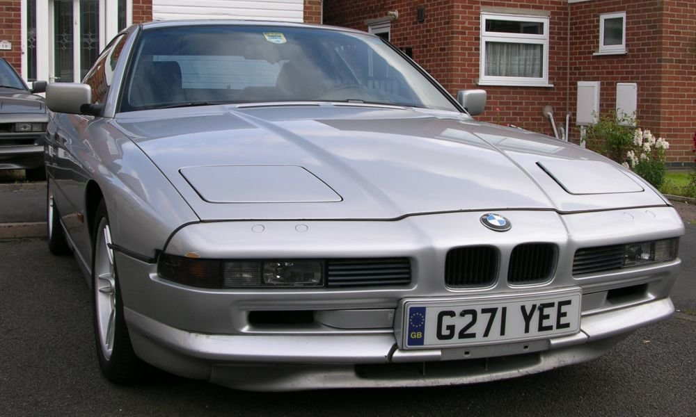 1991 Bwm 850i, sterling silver, lhd, auto, japan import For Sale (picture 1 of 6)