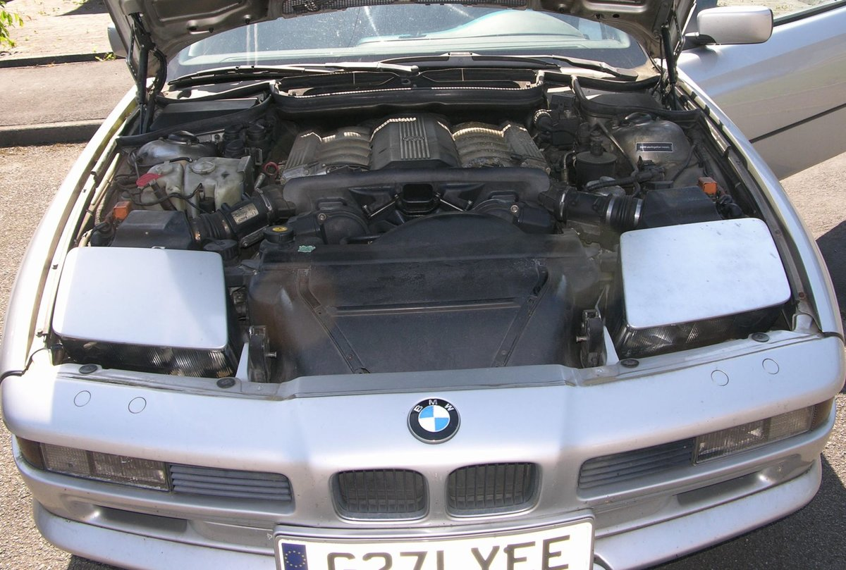 1991 Bwm 850i, sterling silver, lhd, auto, japan import For Sale (picture 5 of 6)