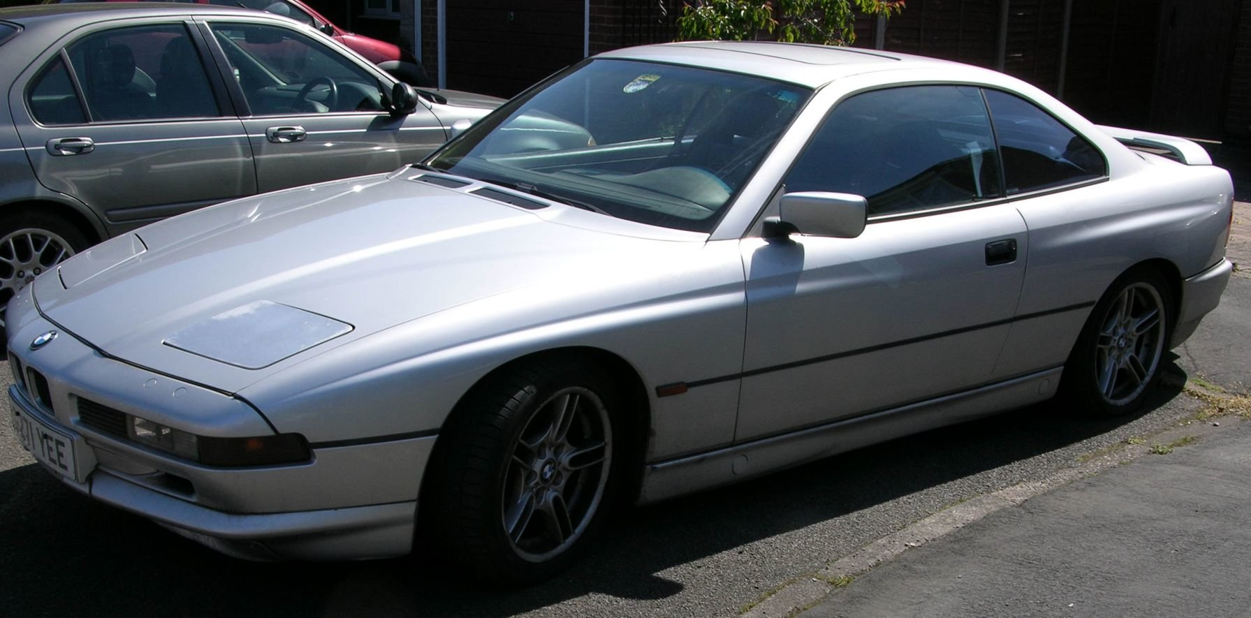 1991 Bwm 850i, sterling silver, lhd, auto, japan import For Sale (picture 6 of 6)