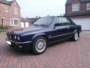 1990 BMW 325i Convertible E30 Fully restored ABS BBS