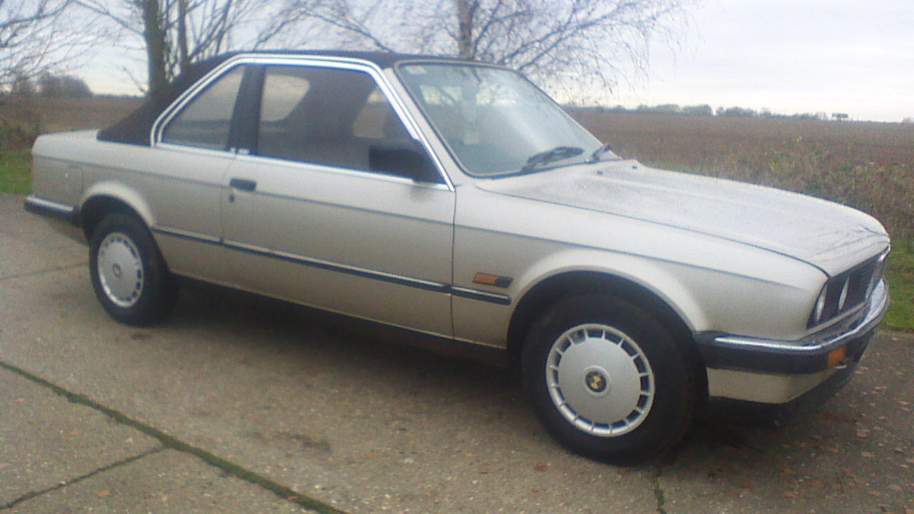 1986 bmw 3series 1.8 saloon For Sale (picture 1 of 6)