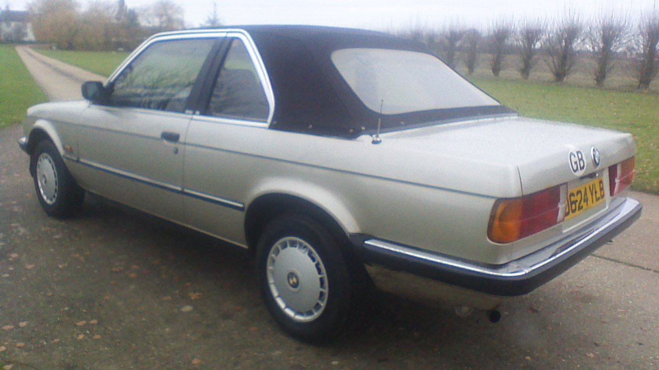 1986 bmw 3series 1.8 saloon For Sale (picture 3 of 6)