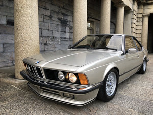 1984 BMW 6 SERIES 628CSi E24 SOLD