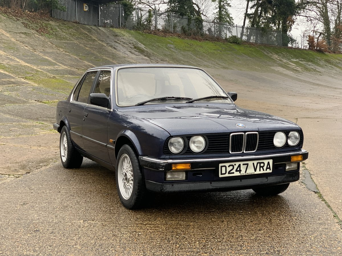 1987 BMW 320i Auto E30 One family ownership since new  SOLD (picture 1 of 6)