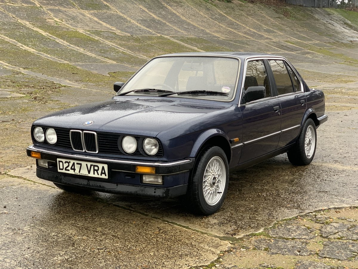 1987 BMW 320i Auto E30 One family ownership since new  SOLD (picture 2 of 6)
