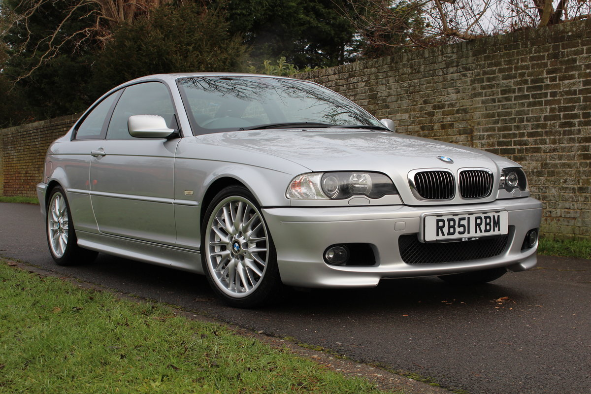 2001 BMW E46 330CI SPORT * ONE OWNER 50,000 MILES * *SOLD* SOLD (picture 1 of 6)