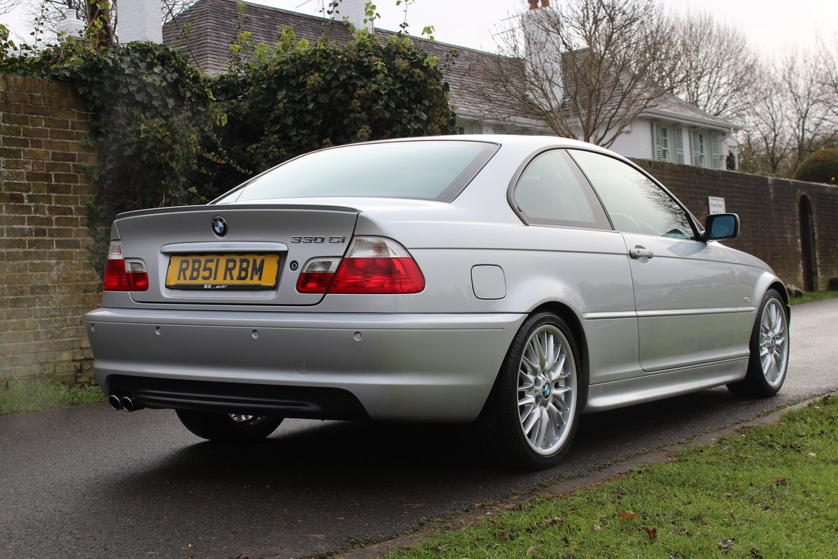 2001 BMW E46 330CI SPORT * ONE OWNER 50,000 MILES * *SOLD* SOLD (picture 2 of 6)