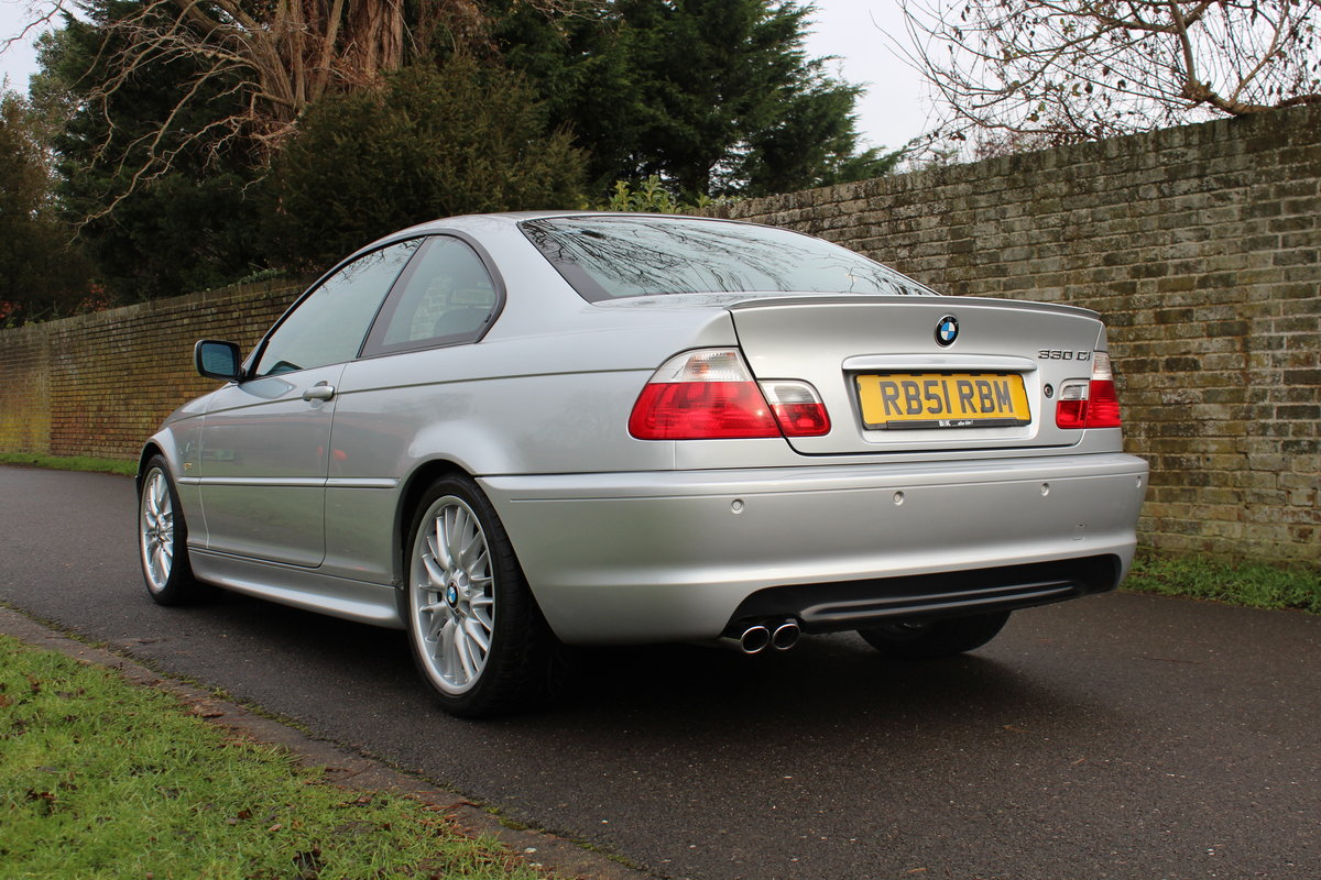2001 BMW E46 330CI SPORT * ONE OWNER 50,000 MILES * *SOLD* SOLD (picture 4 of 6)