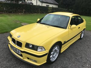 1996 BMW M3 3.2 EVO COUPE YELLOW 38K FBMWSH SIMPLY STUNNING! SOLD