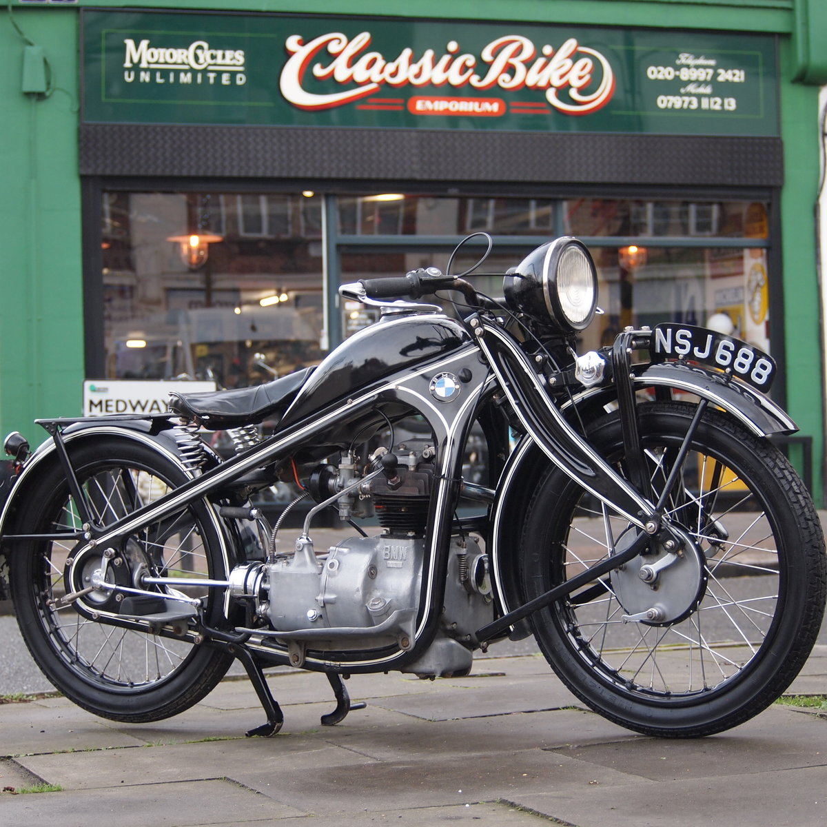 1931 Very Rare 1930/31 BMW R2 Series 1, SOLD SOLD (picture 1 of 6)