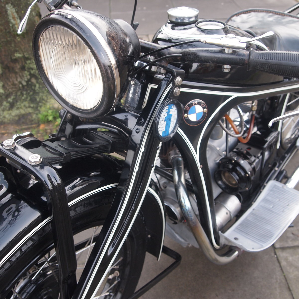 1931 Very Rare 1930/31 BMW R2 Series 1, SOLD SOLD (picture 2 of 6)