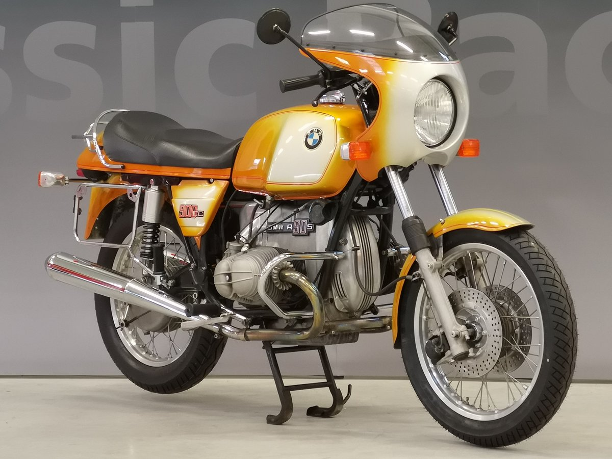 1975 BMW R 90 S Daytona Orange for sale SOLD (picture 1 of 6)