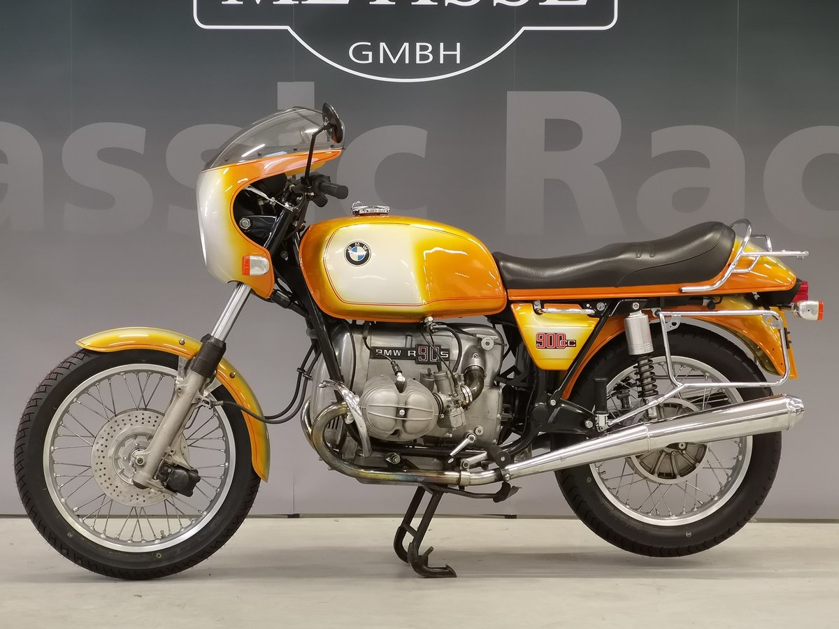 1975 BMW R 90 S Daytona Orange for sale SOLD (picture 2 of 6)