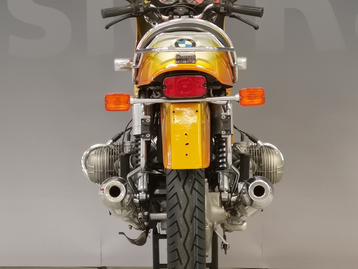 1975 BMW R 90 S Daytona Orange for sale SOLD (picture 3 of 6)