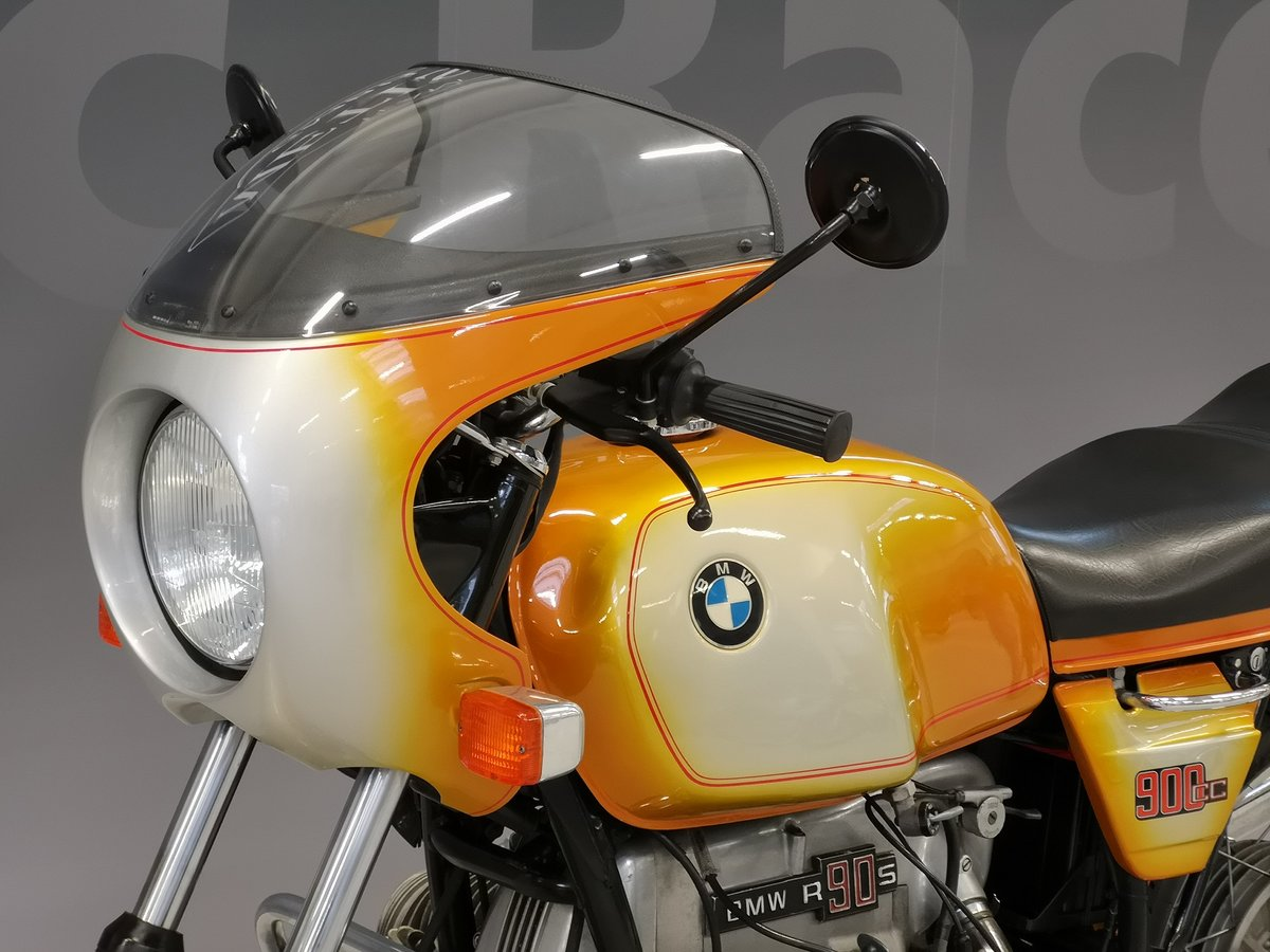 1975 BMW R 90 S Daytona Orange for sale SOLD (picture 6 of 6)