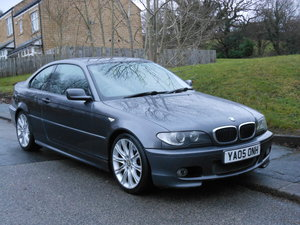 2005 BMW 320 CD M Sport Coupe 6SPD Face Lift Model SOLD