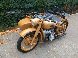 1957 BMW R 71 recreation Africa Corps Erwin Rommel For Sale