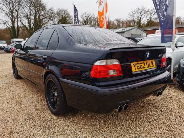 2001 BMW M5 5.0 V8 E39 MANUAL HIGH SPEC  For Sale (picture 3 of 6)
