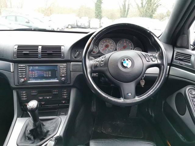 2001 BMW M5 5.0 V8 E39 MANUAL HIGH SPEC  For Sale (picture 5 of 6)