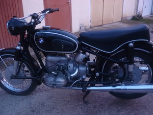 1966 BMW R69S matching numbers