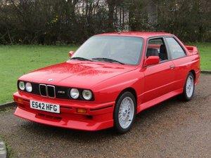 1988 BMW E30 M3 Evo II NO RESERVE at ACA 25th January 2020