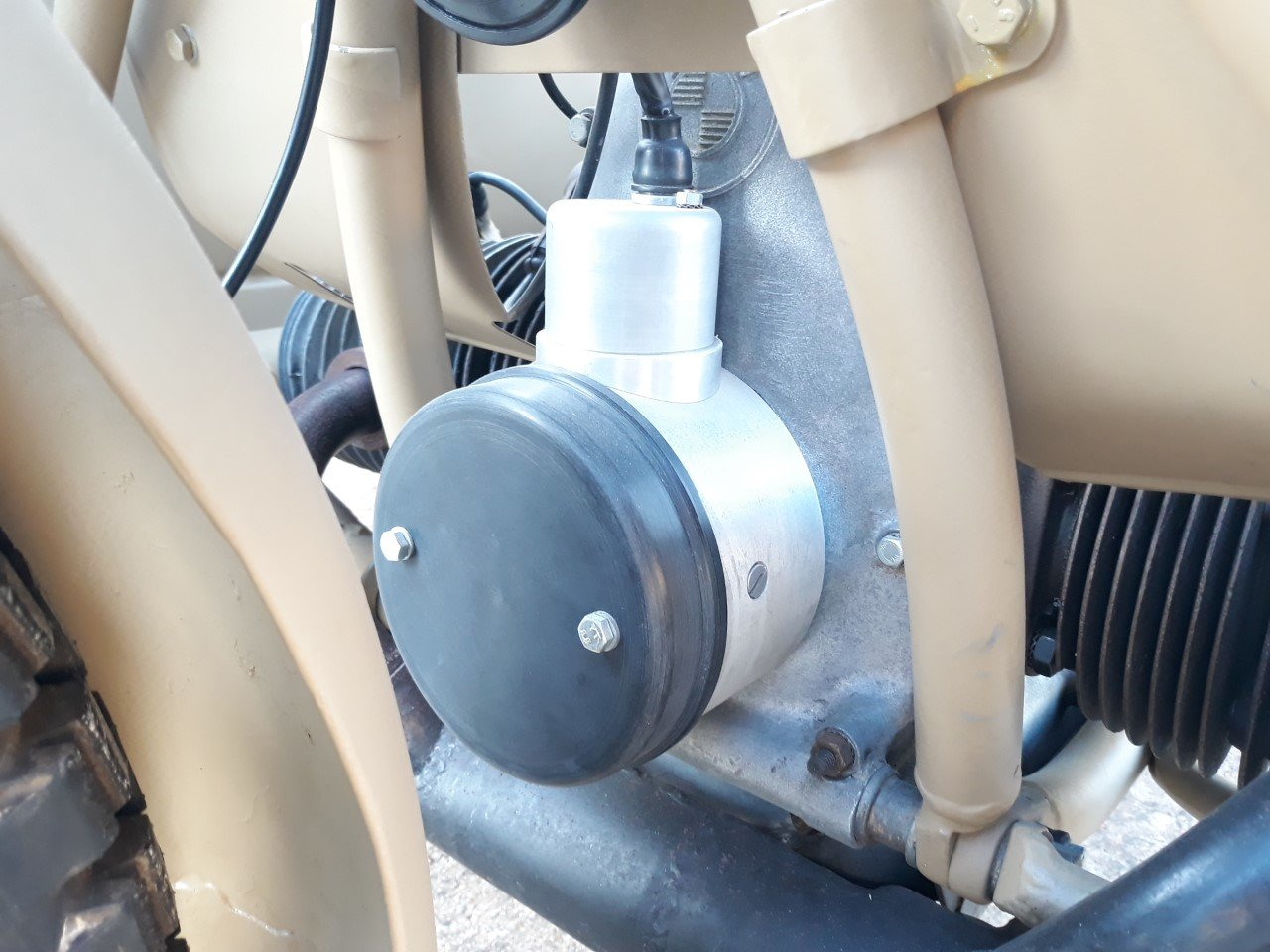 1943 BMW R75 Afrika Korps Military Sidecar -f. restored For Sale (picture 4 of 6)