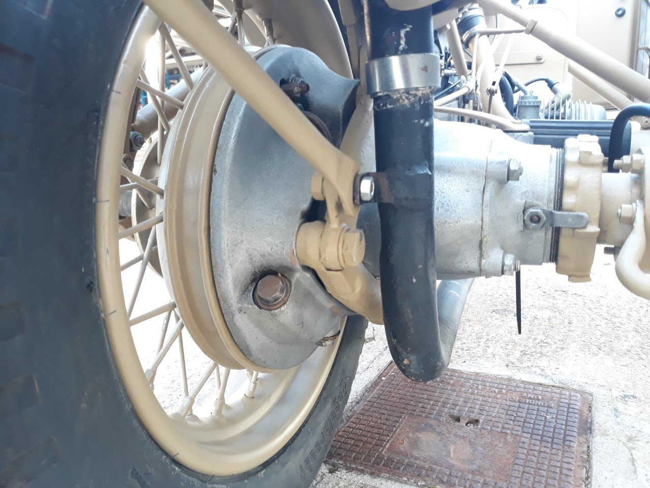 1943 BMW R75 Afrika Korps Military Sidecar -f. restored For Sale (picture 5 of 6)