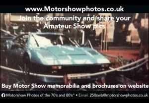 Motorshow photos Wanted