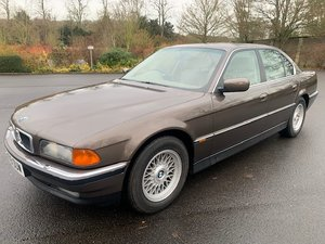 **REMAINS AVAILABLE** 1995 BMW 740 Auto For Sale by Auction